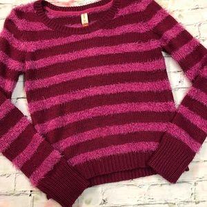 Pink Fuzzy Sweater Size 1X